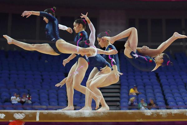 курьезы в гимнастике фото